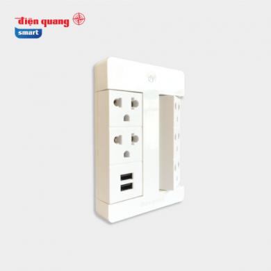 Ổ Cắm Thông Minh Điện Quang SPS1.1 05 USB WiFi